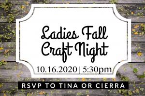 Fall Craft Night @ Fall Craft Night