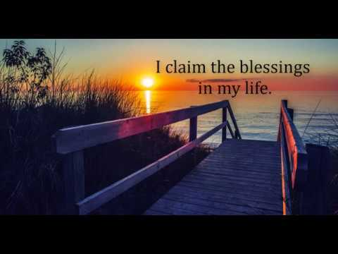 Claim Your Blessings